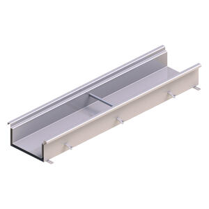 Double contained curved slot drain channel by Kent
