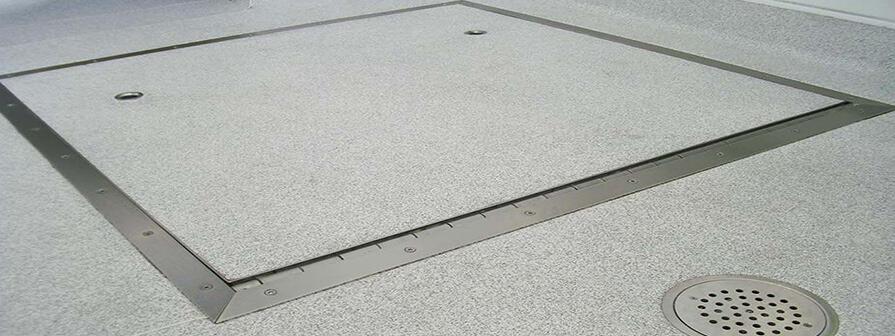 Kent's Light Duty Access Covers & Manholes for Flexible Flooring