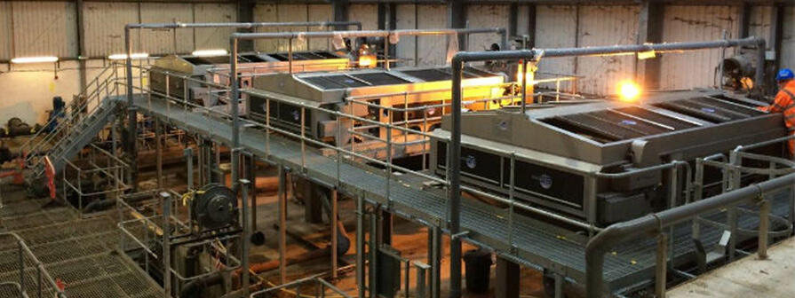 Sludge Dewatering Machinery