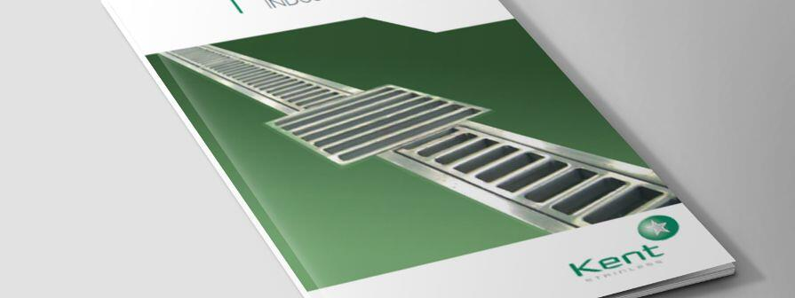 Close up of Kents Industrial drainage brochure