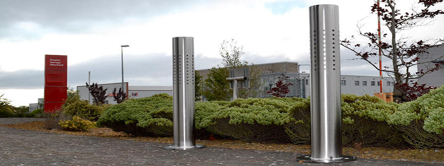 Stainless Steel Bollards by Kent