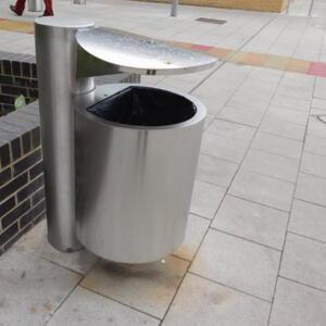 Kent's anti-terrorism Frankfurt bin in use