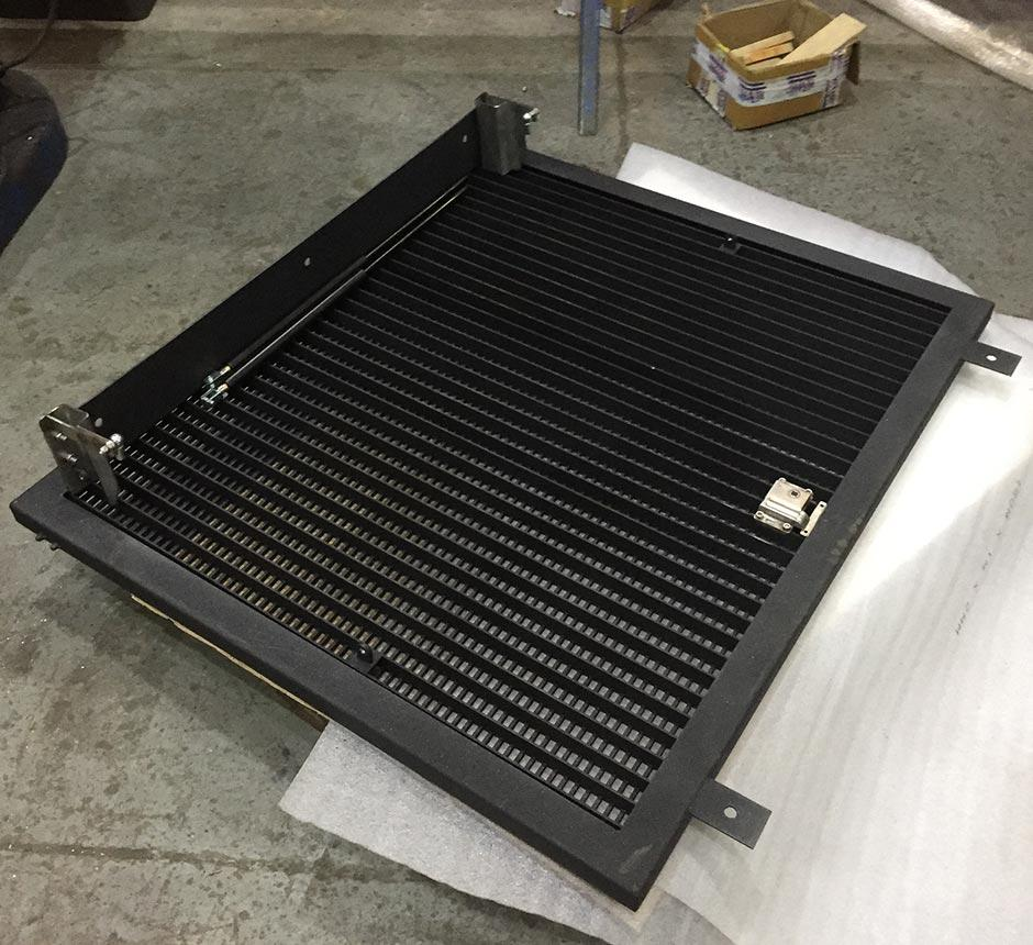 Kent's hinged solo ventilation grille
