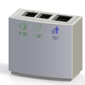 CAD drawing of Kents internal airport bin