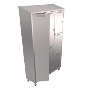 3D Model of Kent's Locker Cabinets