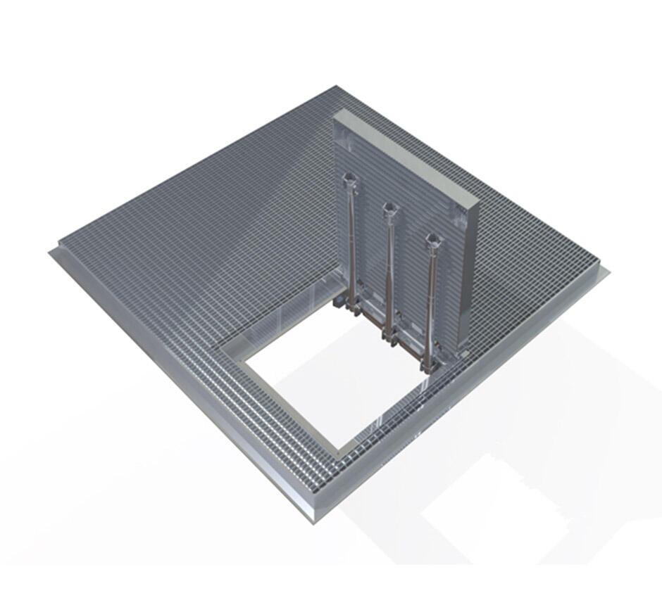 Model of Kent's man access ventilation grille