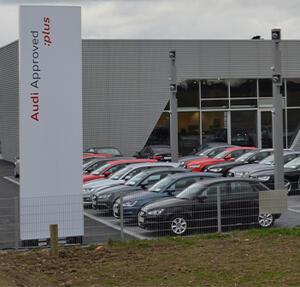 Audi garage in County Wexford