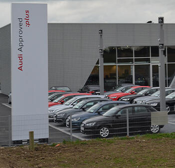 Audi garage in County Wexford