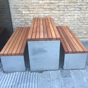 Kents Greenwich picnic set used for outdoor seating