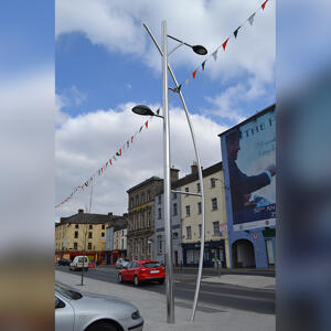 Street view of Kents Dunbrody street light