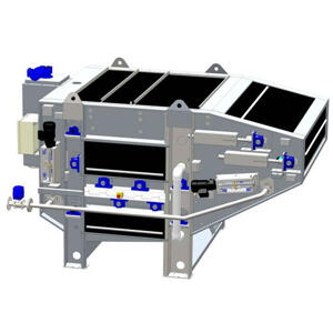 2D drawing of Unison 200 Filter Belt Press