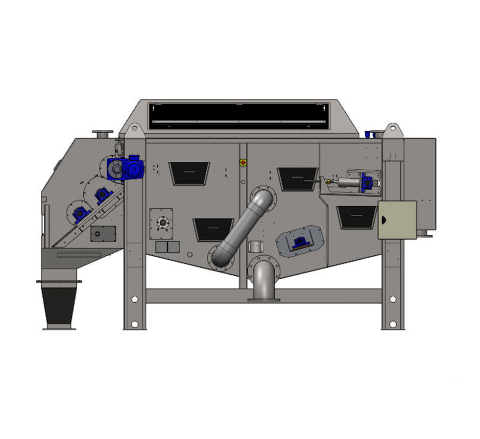 2D drawing of Unison 400-S Gravity Belt Thickener