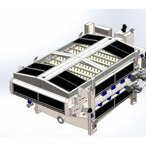 2D drawing of Unison 500 Filter Belt Press