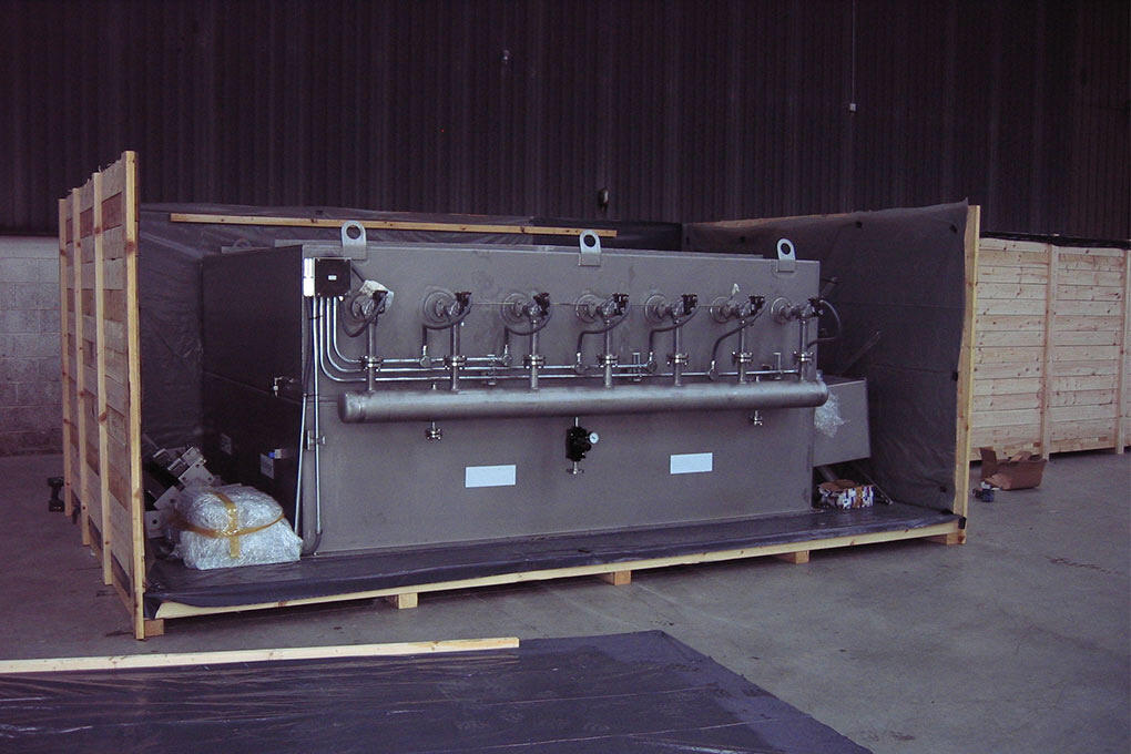 Industrial air handling unit by Kent